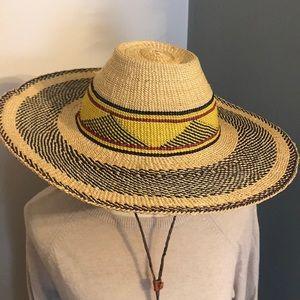 Sombrero style hat
